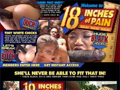 18 INCHES OF PAIN - These Black Guys Are Meaner Than Ever And Want Pain!