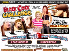 BLACK COCK CHELLENGE - White Girls Getting Paid To Take The Black Cock Challenge!