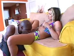 Chrissy Cane Gets Some Black Dick